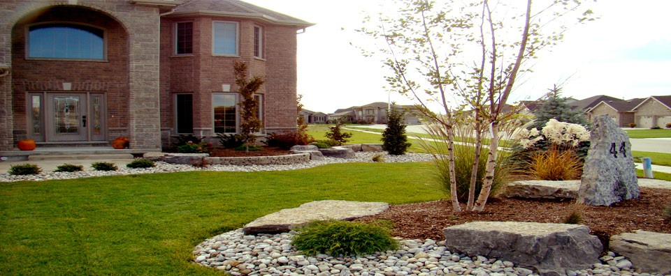 Rural roots landscape and design chatham kent ontario for Rural landscape design
